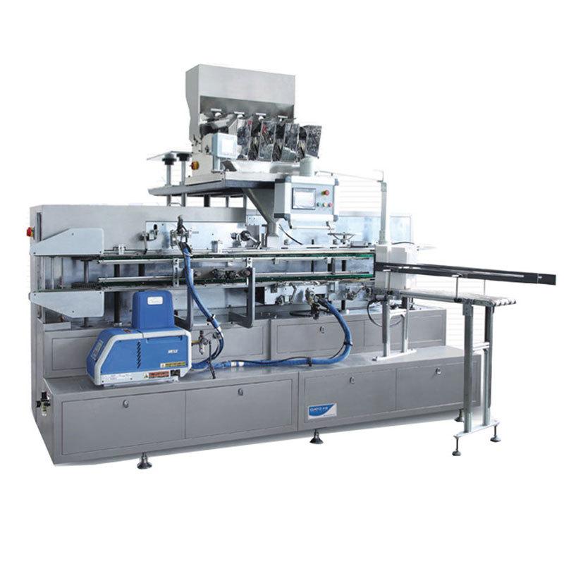 DZH-50B Multifunctional Automatic Cartoning Machine For Washing Powder
