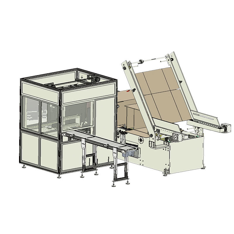 OPZX-660  Automatic Case Packer machine
